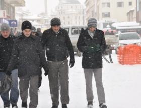 Boluda okullara 10 Ocakta kar tatili