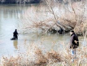 Kayıp kızın cesedi Meriç Nehrinde arandı
