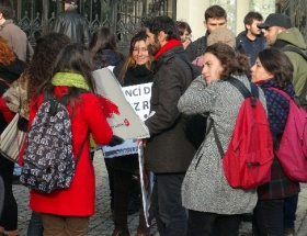 TKPli öğrenciler rektörü istifaya çağırdı