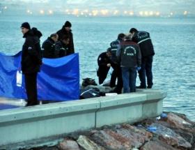 Ortaköyde denizden kimliği belirsiz ceset bulundu