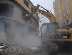 Osmangazide yıkımlar sürüyor