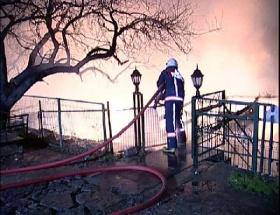 Fenerbahçede yangın paniği