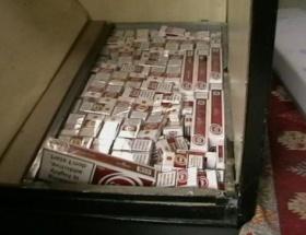 Çorluda kaçak sigara operasyonu