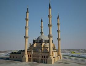 Antakyaya 10 bin kişilik cami
