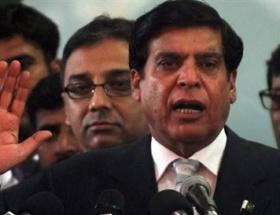 Pakistan başbakanı cezaevine konuldu