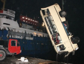 Minibüs sürücüsü 5 gün hayata tutunabildi