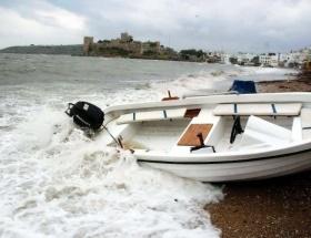 Ege Denizinde fırtına uyarısı