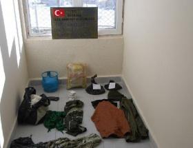 İran sınırında PKK sığınağı