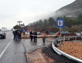 Muğlada köylülerin yol isyanı