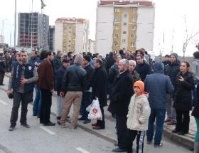 TOKİ Kayaşehirde fatura isyanı