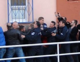 Amatör maçta olaylar çıktı; 3 gözaltı