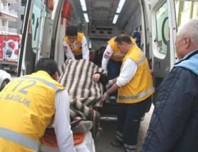 Beyşehirde kaza: 2 yaralı