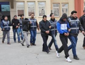 Alanyada uyuşturucu tacirileri tutuklandı