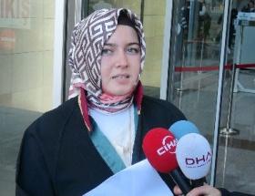 Türbanlı avukat ilk kez duruşmada