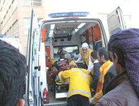 Suriyeli 5 yaralı Akçakaleye getirildi