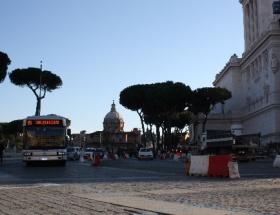 Romada toplu taşıma grevi
