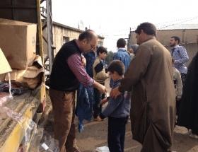 Kimse Yok Mudan, sığınmacılara yardım eli