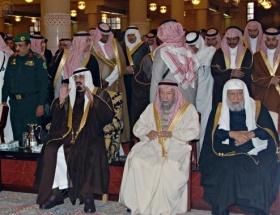 Kral Abdullah, Riyad Emirinin cenazesine katıldı