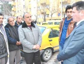 Validen öldürülen taksicinin evine taziye zyareti