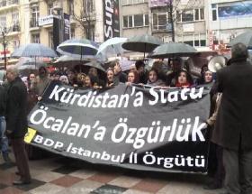 BDPliler yol kapatıp yürüdü