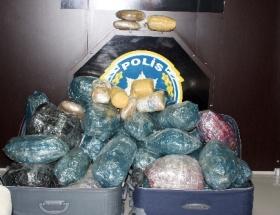 Kırşehirde uyuşturucu operasyonu