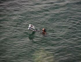 Denizde bulunan cipten ceset çıktı