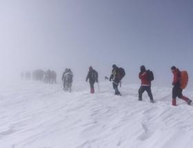 Ilgazın zirvesinde 23 dağcı