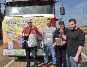 Bosnalılardan Suriyelilere yardım eli