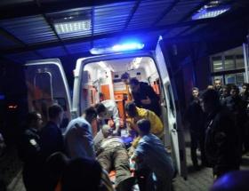 Askerin silahıyla şoförün kardeşini yaraladılar