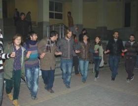 Halkevi üyesi 6 kişi serbest kaldı