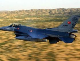 F-16lar İHAlar için havalandı