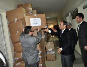 Seydişehirde 2 bin öğrenciye giysi yardımı