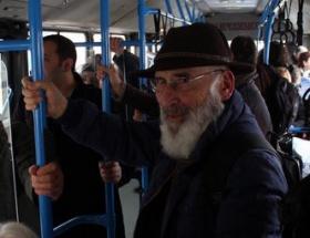 Kadı Efendi halk otobüsünde!
