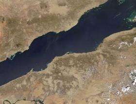 Kızıl Denizin derinliklerinde dev kanyon