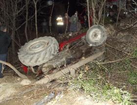 Simavda kaza: 1 ölü, 1 yaralı