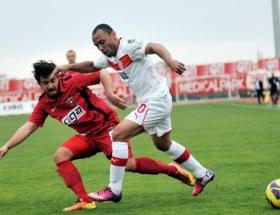 Antalyada 7 gollü maç