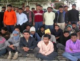 Umut yolculuğuna çıkan 37 kaçak yakalandı
