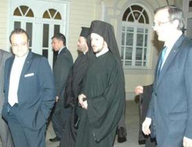 Yunanistan Başbakanı Samaras Patrikhaneyi ziyaret etti