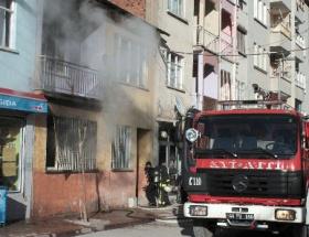 Şizofreni hastası, evini ateşe verdi