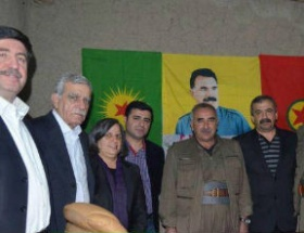 BDPli heyet, terör örgütü elebaşlarıyla buluştu