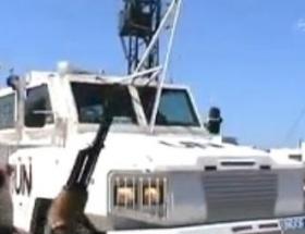 BM askerleri rehin alındı