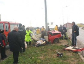 Kırklarelinde trafik kazası: 1 ölü