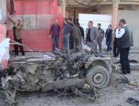 Kerkükte bombalı saldırı: 2 ölü