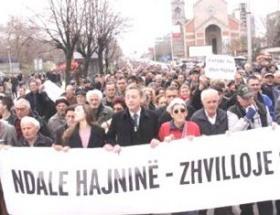 Kosovada elektrik protestosu