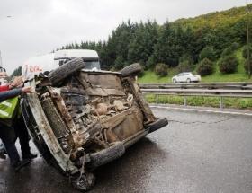 Tuzlada kaza: 5 yaralı
