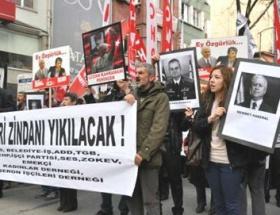 Ergenekon mütalaası protesto edildi