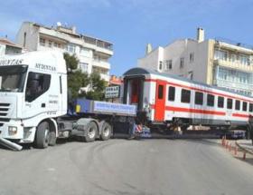 Bulgaristana ihraç edilen vagonlar Geliboluda