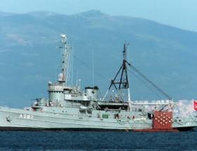 Savaş gemileri Mudanyaya sığındı