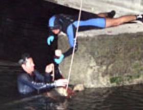 Sulama kanalından erkek cesedi bulundu