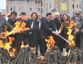 Eskişehirde, Türk dünyası nevruz kutlaması